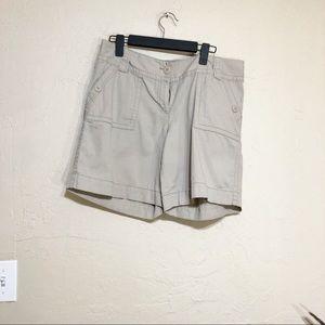 Loft Khaki Shorts 12